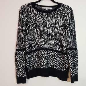 Rachel Rachel Roy Mixed Animal Print Sweater, sz M